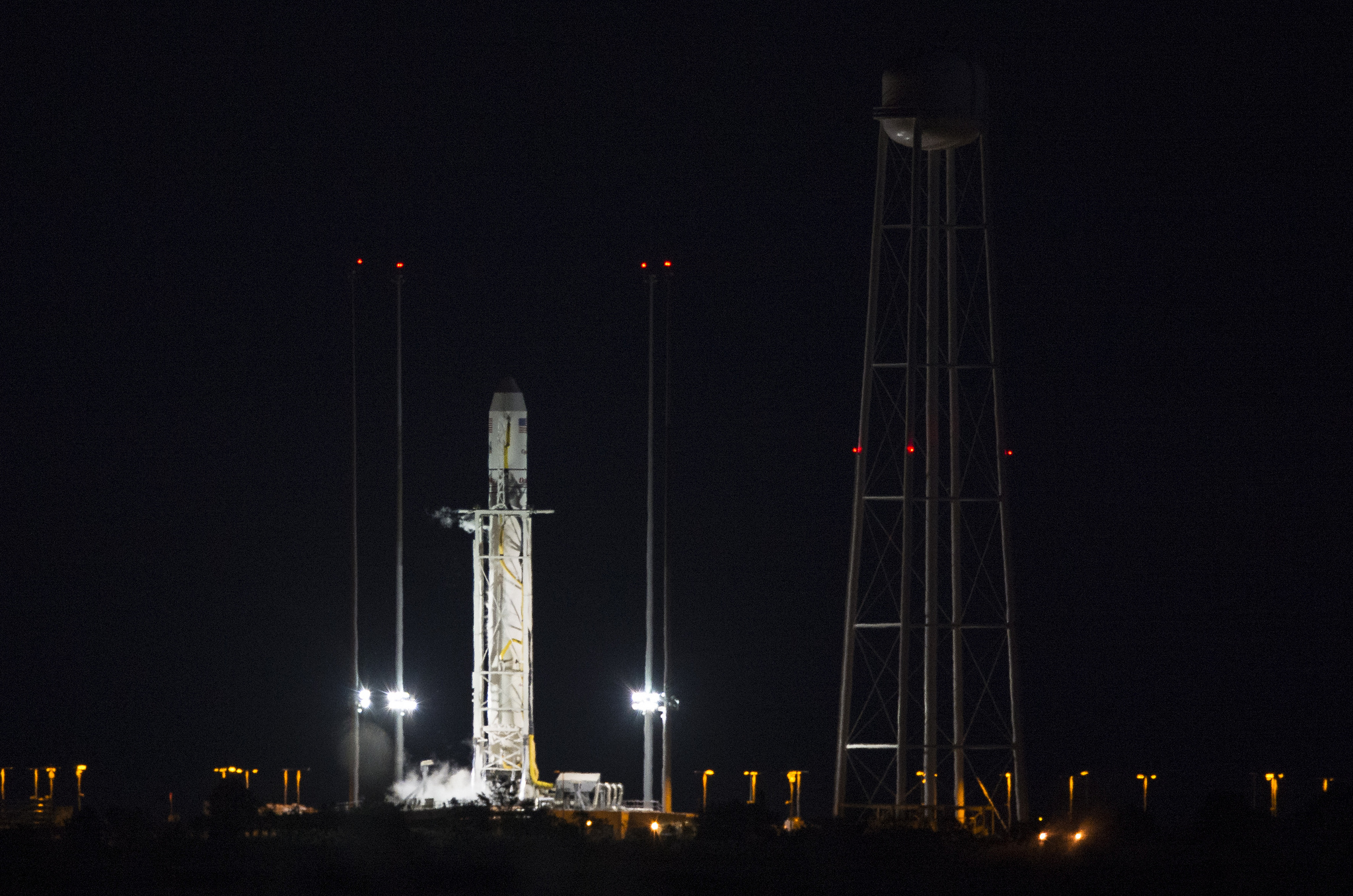 Errant boat scrubs Antares launch from Virginia ...