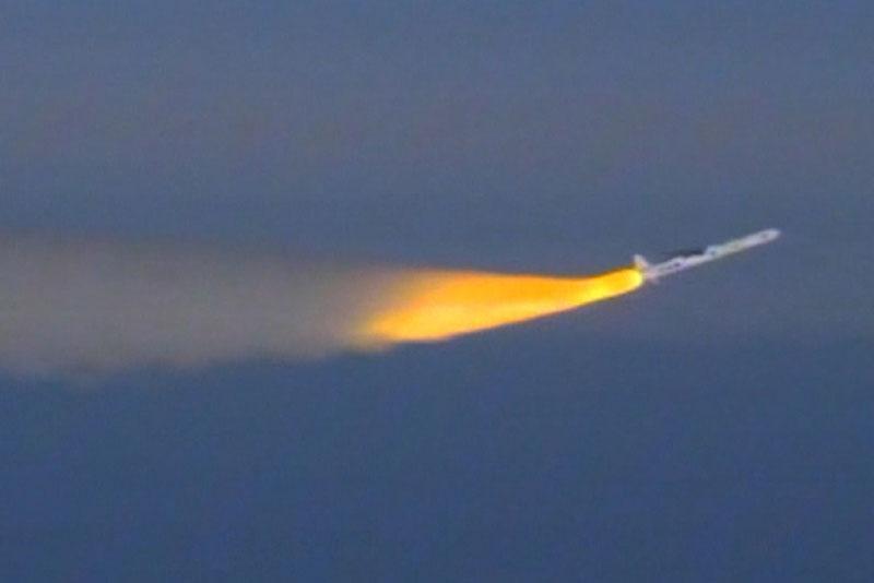 File photo of a Pegasus XL rocket launch from June 2013. Credit: NASA TV