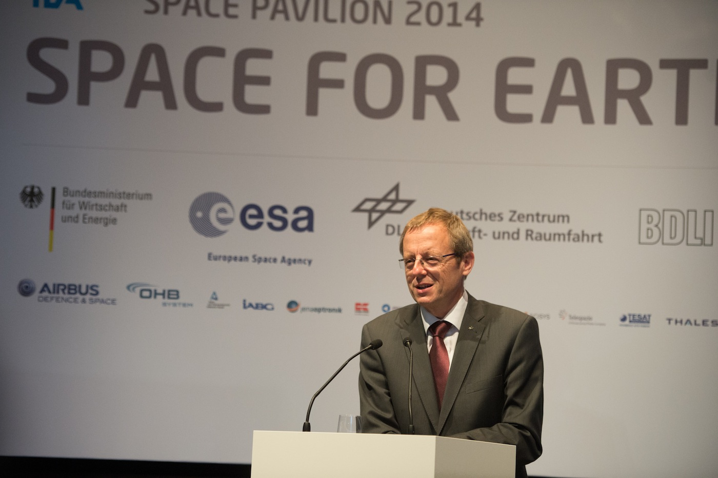 DLR chairman Johann-Dietrich Woerner will take over as ESA's director general on July 1, 2015. Credit: ESA–P. Sebirot, 2014