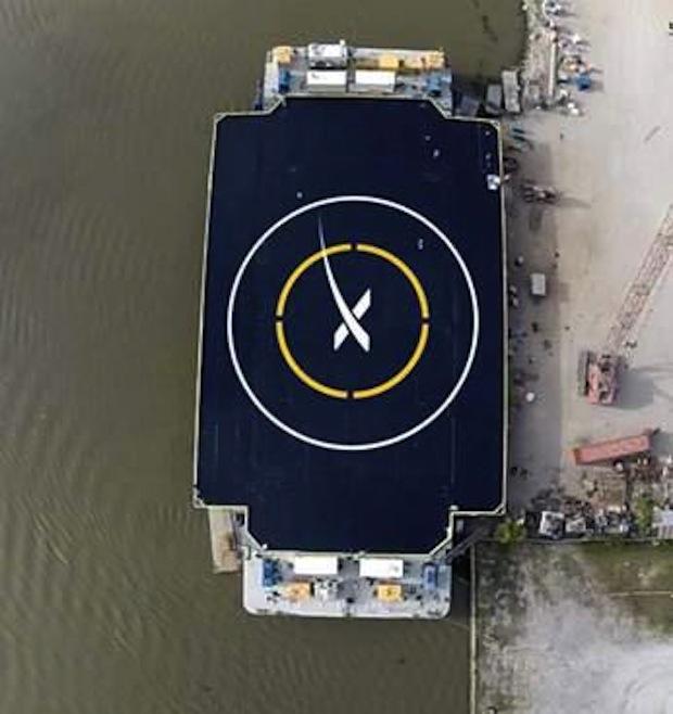Credit: SpaceX via Elon Musk