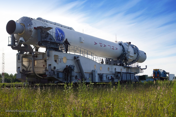 A file photo of Russia's Angara rocket. It uses an RD-191 engine, seen here, similar to the RD-181 engine planned to fly on Orbital's Antares rocket. Credit: Russian Ministry of Defense
