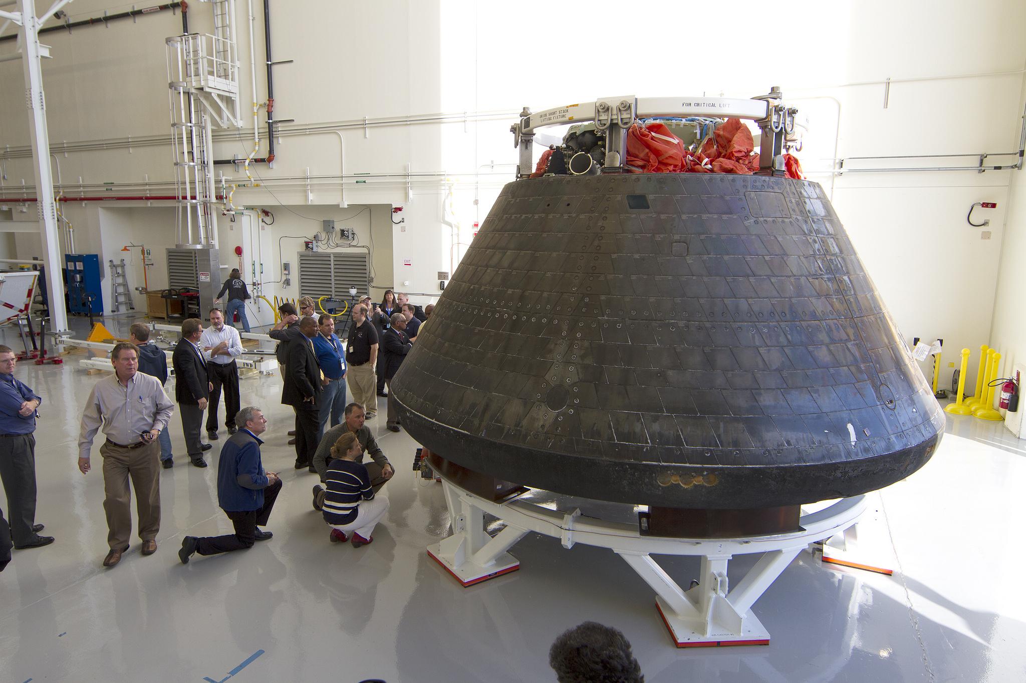 Lockheed Martin Begins Taking Apart First Flown Orion