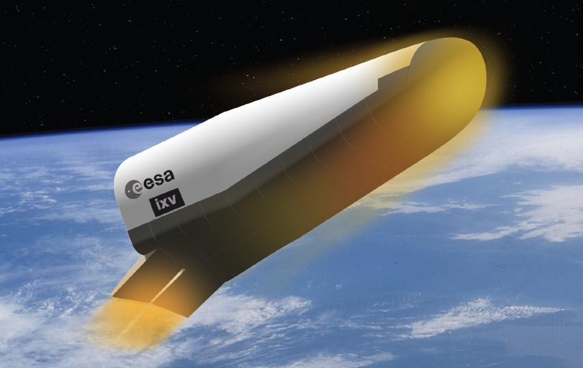 Artist's concept of the Intermediate Experimental Vehicle. Credit: ESA