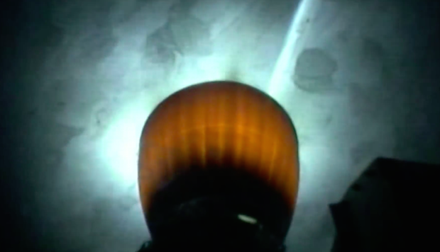 The second stage Merlin 1D vacuum engine ignites for an approximately 6-minute burn.