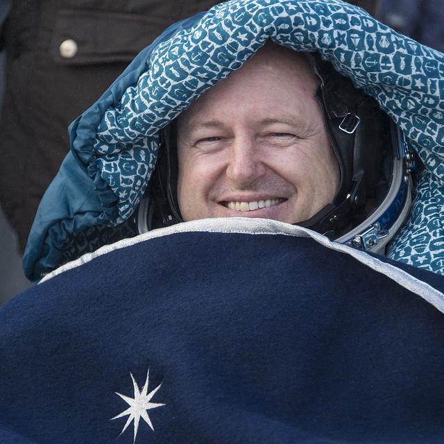 Expedition 42 commander Butch Wilmore. Photo credit: NASA/Bill Ingalls