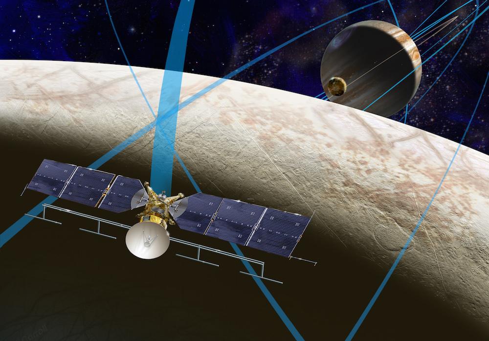Artist's concept of the Europa Clipper spacecraft. Credit: NASA/JPL-Caltech/JHUAPL