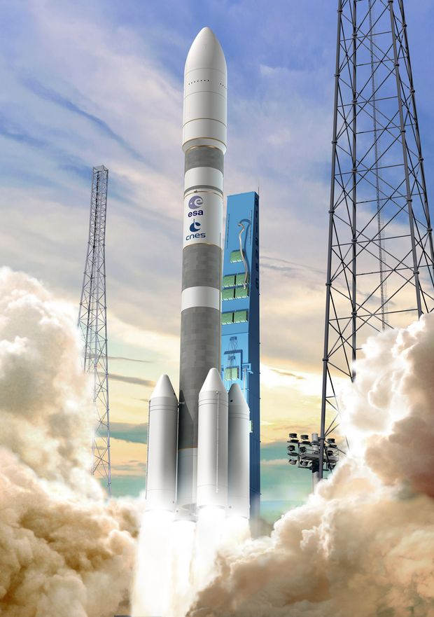 Artist's concept of the Ariane 6 rocket. Credit: CNES