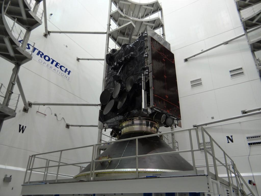 File image of WGS satellite. Credit: ULA