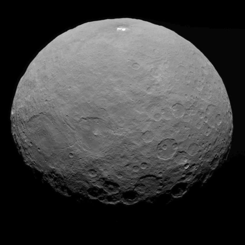 Dawn captured this view of Ceres on May 7 from a distance of 8,400 miles, or 13,600 kilometers. Credit: NASA/JPL-Caltech/UCLA/MPS/DLR/IDA