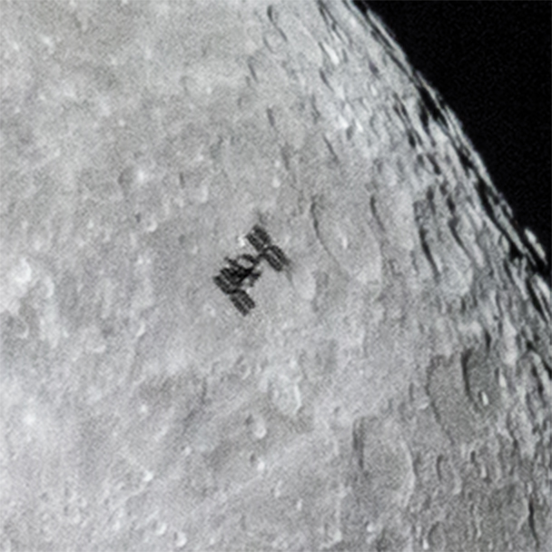 space station lunar transit - photo #25