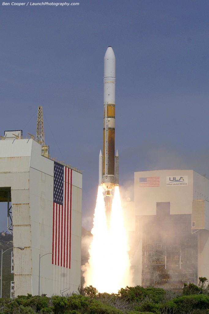Vandenberg launched the first Delta 4 Medium+ (5,2) on April 3, 2012. Credit: Ben Cooper (more launch pics)
