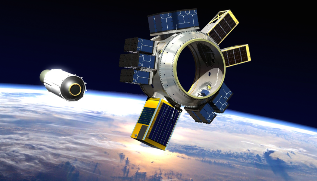 Artist's concept of Spaceflight Industries' Sherpa multi-payload space tug, set for a debut mission next year. Credit: Spaceflight Industries
