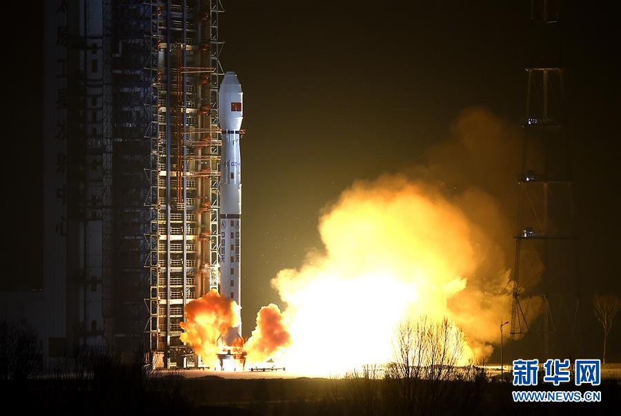China's Yaogan 29 satellite lifted off at 2124 GMT (4:24 p.m. EST) Thursday, or 5:24 a.m. Beijing time Friday. Credit: Xinhua