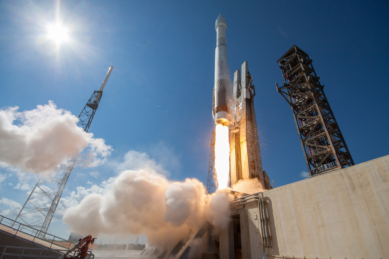 File photo of an Atlas 5 rocket launch. Credit: ULA