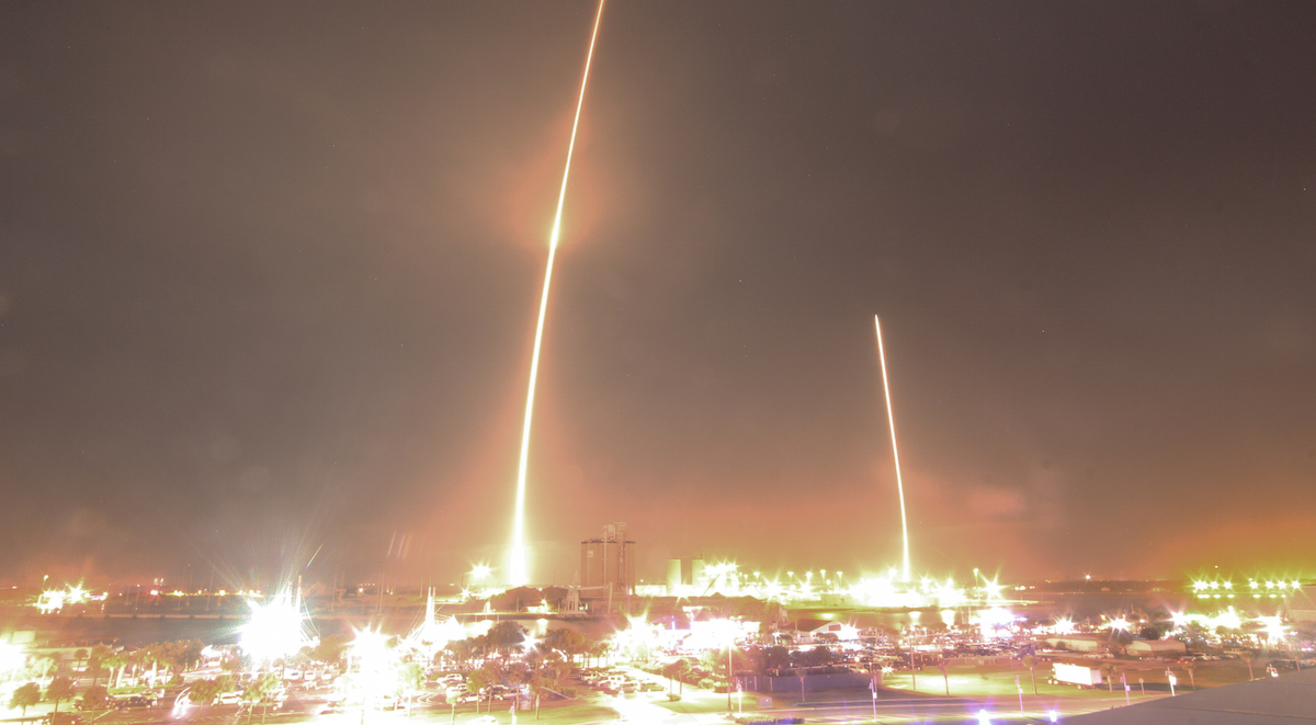 spacex reusable rocket splash down - photo #26