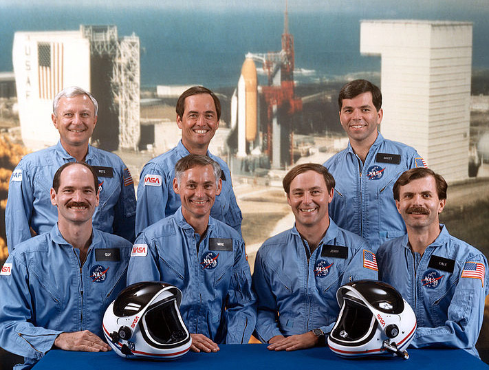 The STS-62A crew portrait. Credit: NASA/Air Force