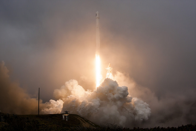 SpaceX's Falcon 9 rocket lifted off at 10:42 a.m. PST (1:42 p.m. EST; 1842 GMT) Sunday. Credit: SpaceX