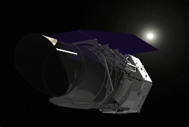 Artist's concept of the WFIRST spacecraft. Credit: NASA