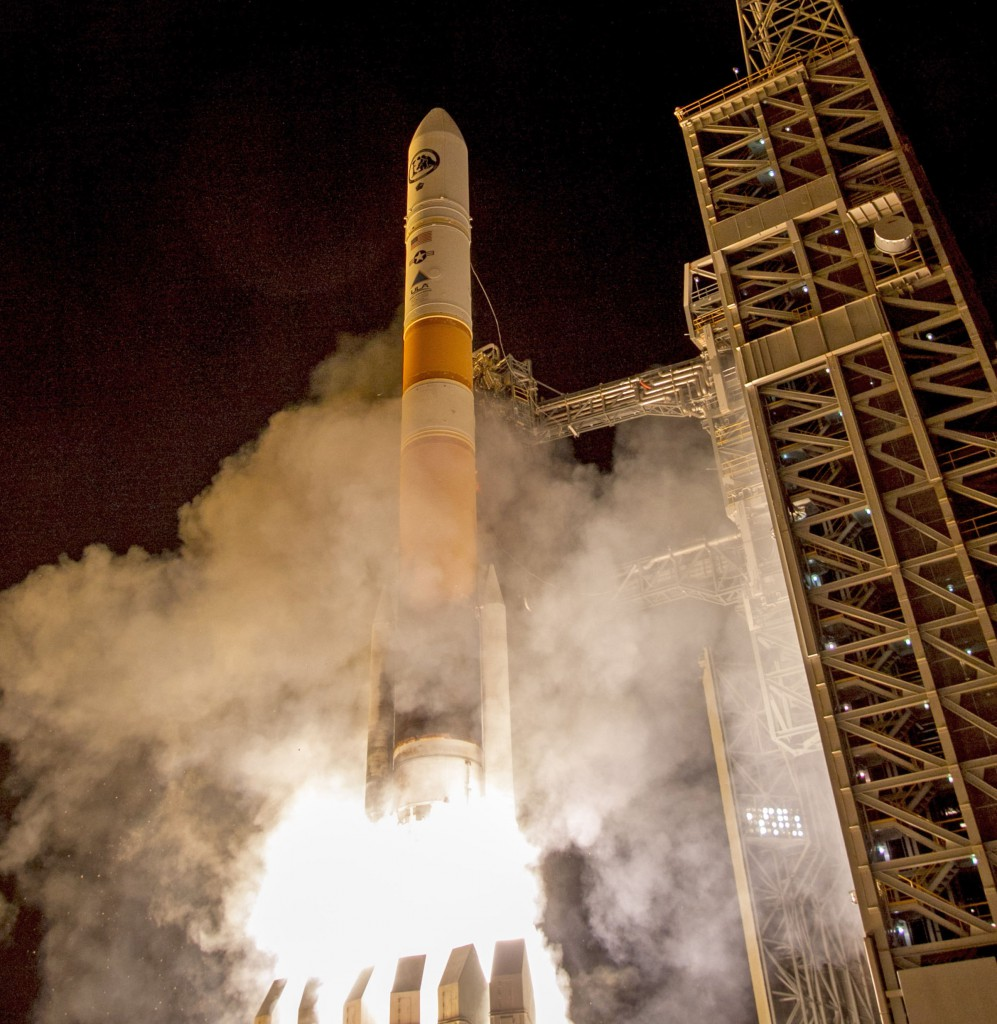 The official launch photo. Credit: ULA