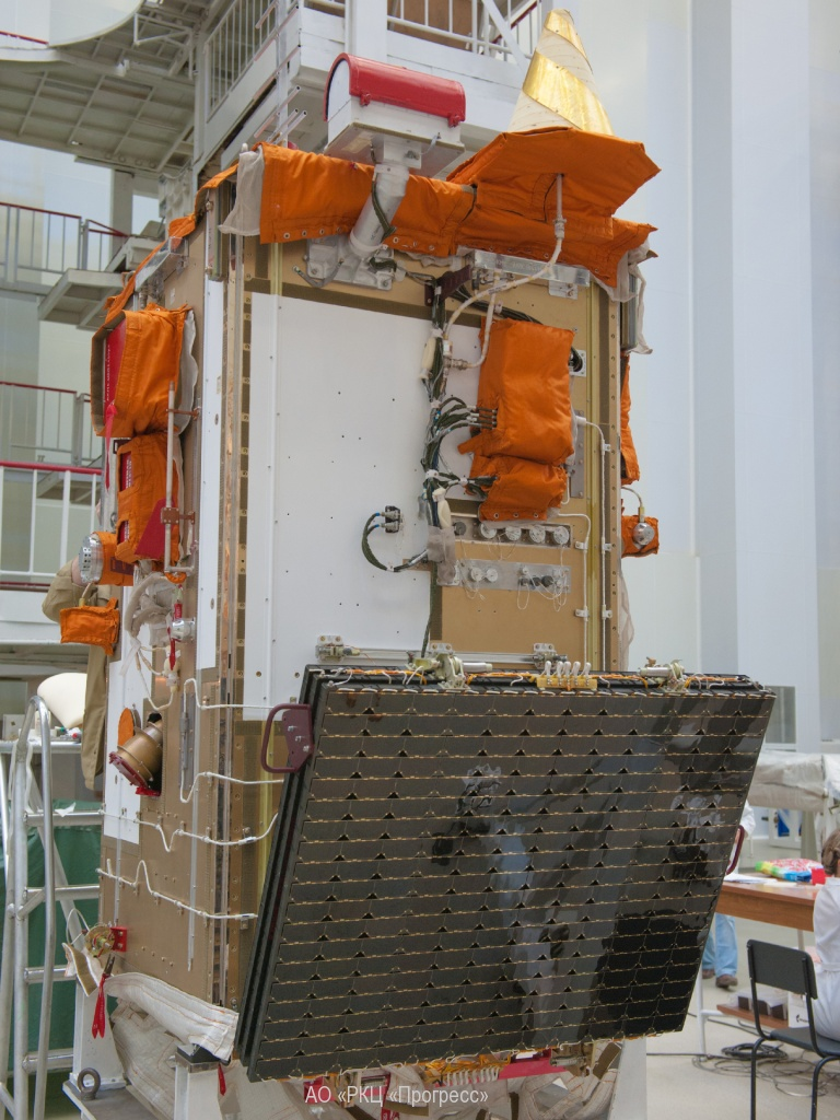 The Aist 2D satellite. Credit: TsSKB Progress