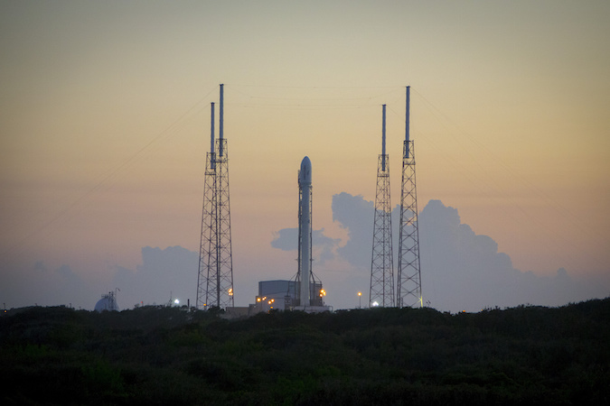 Commercial Falcon 9 rocket launch scheduled for next week ...