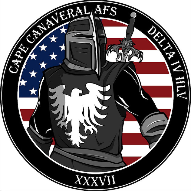 National Reconnaissance Office mission logo for this launch. Credit: NRO