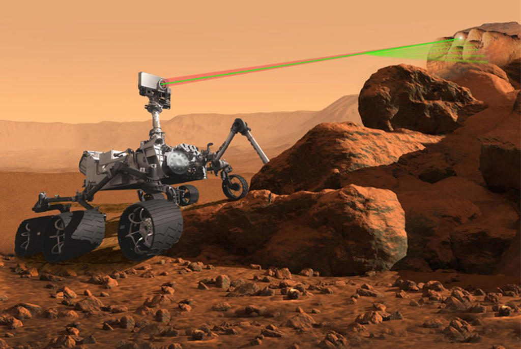 An artist's concept of the Mars 2020 rover. Credit: NASA