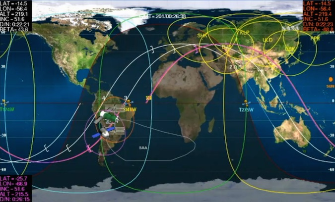 Russian spacecraft delivers fuel and supplies to space ...