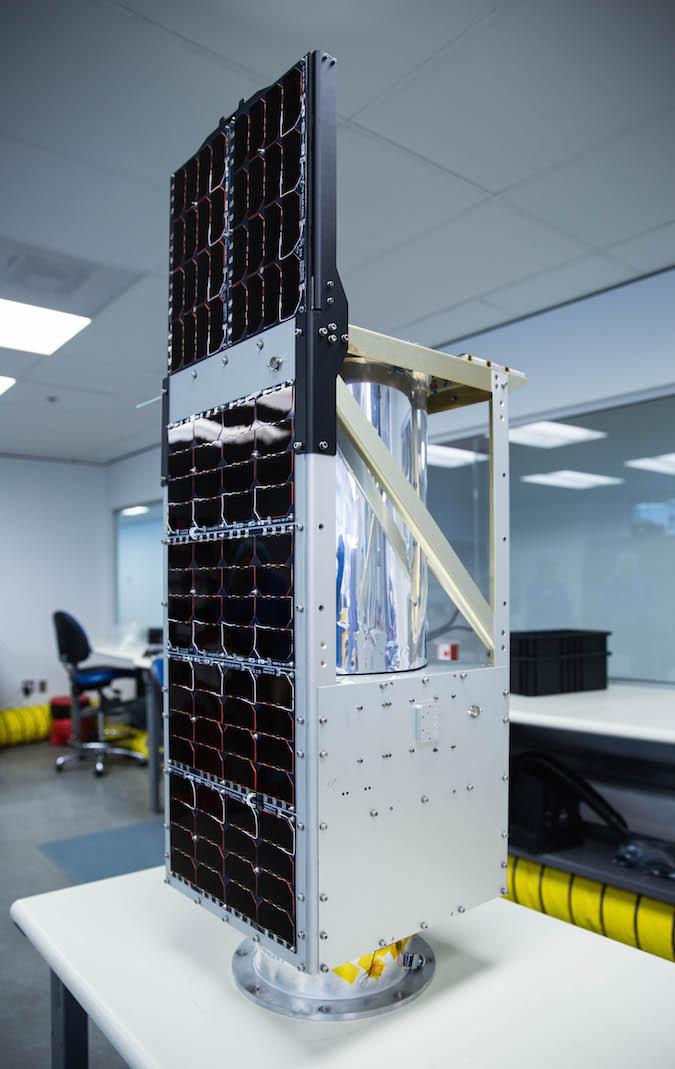 BlackSky's first pathfinder satellite. Credit: BlackSky Global