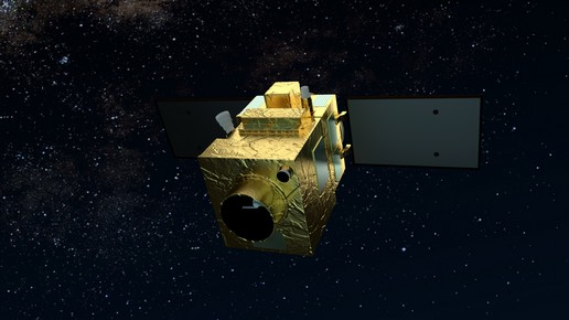 Artist's concept of PeruSat 1. Credit: Airbus Defense and Space
