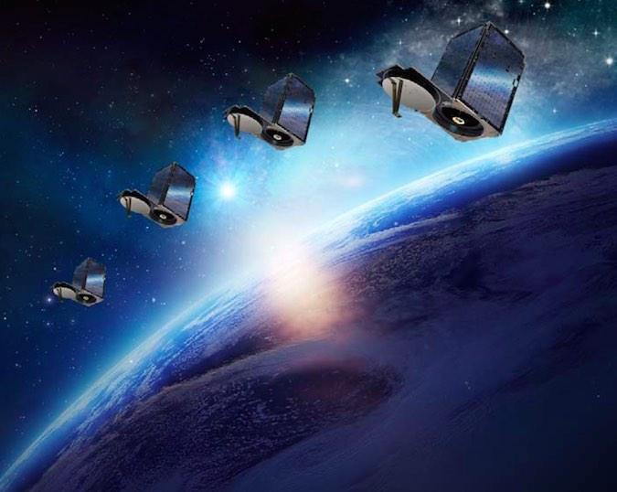 Artist's concept of Terra Bella's SkySat satellites. Credit: Terra Bella