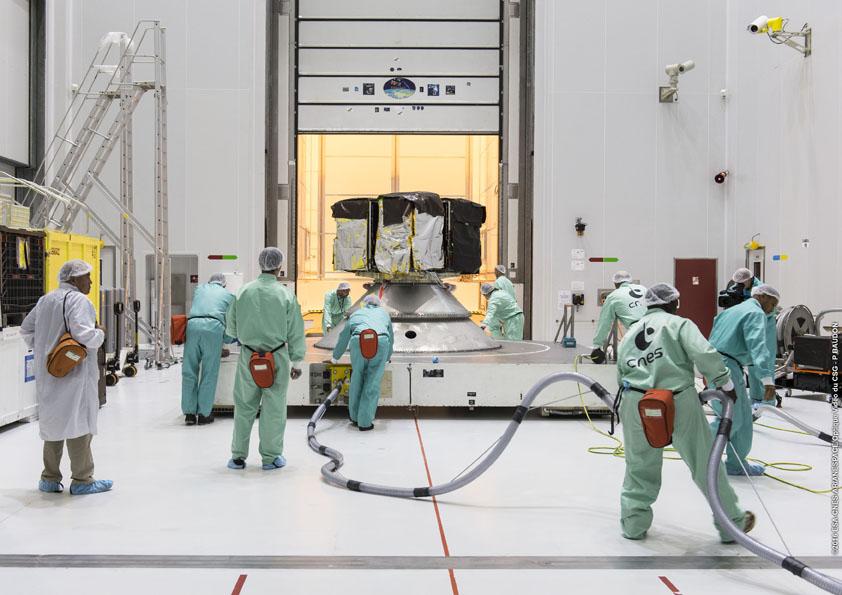 Credit: ESA/CNES/Arianespace – Photo Optique Video du CSG – P. Baudon