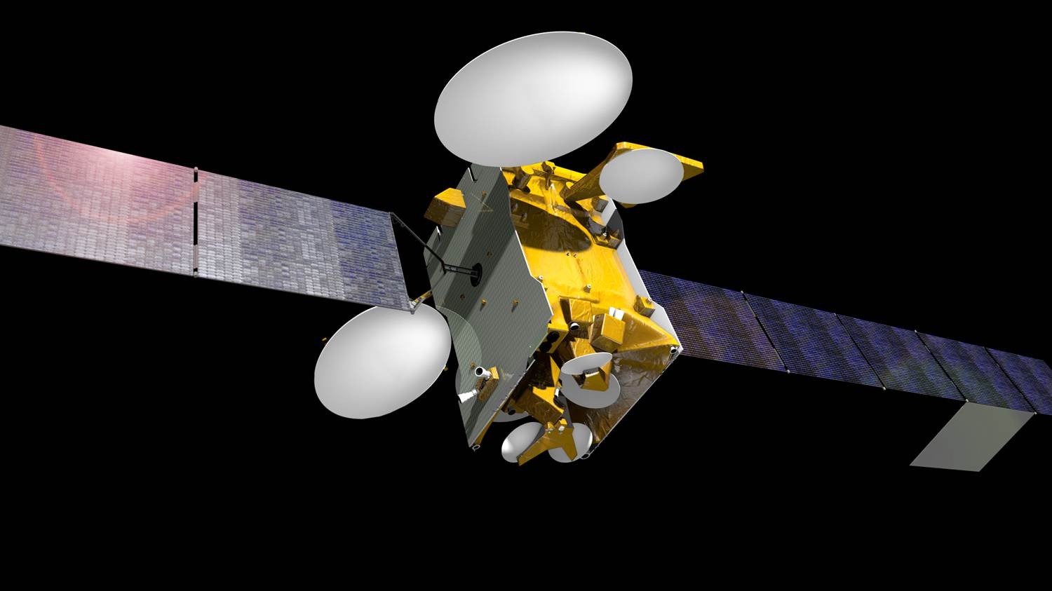 Artist's concept of the SES 10 satellite. Credit: Airbus Defense and Space