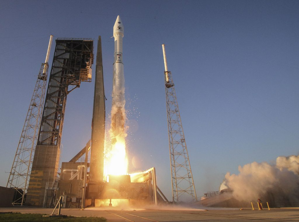 The official launch photo. Credit: United Launch Alliance