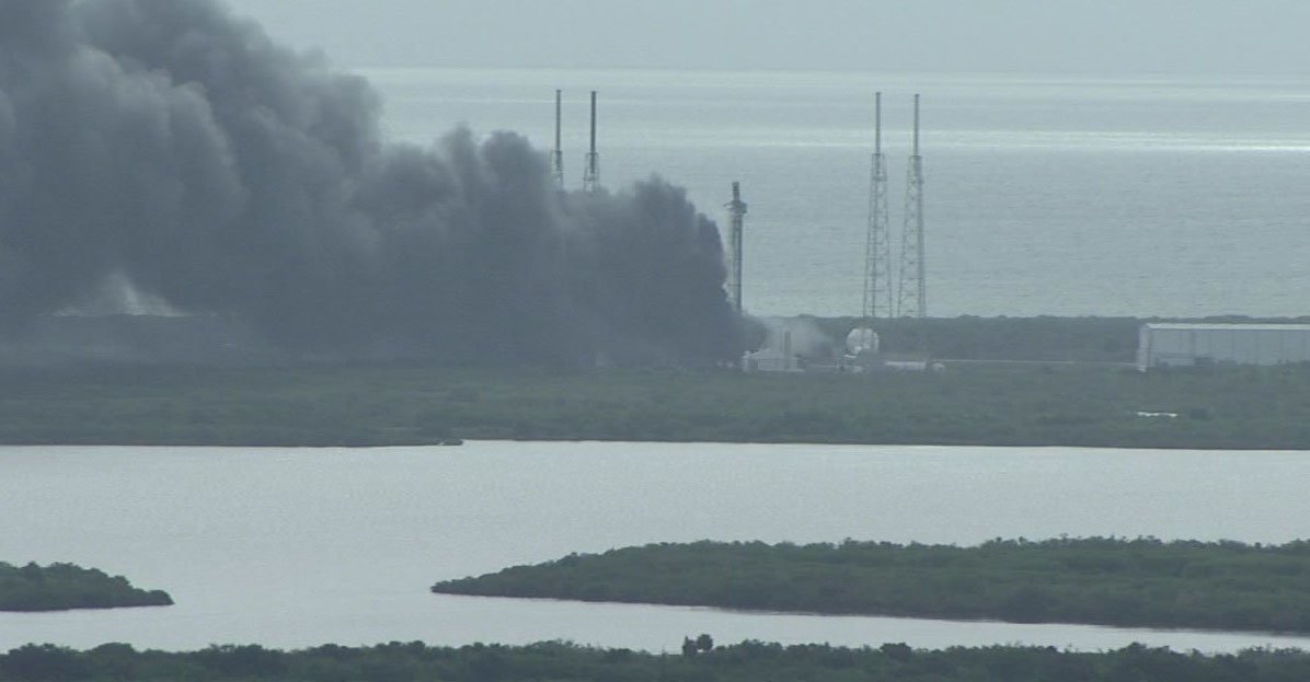 SpaceX rocket and Israeli satellite destroyed in launch ...