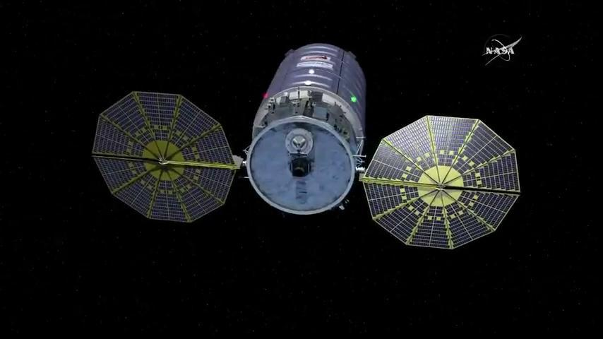 Artist's concept of the Cygnus spacecraft. Credit: NASA
