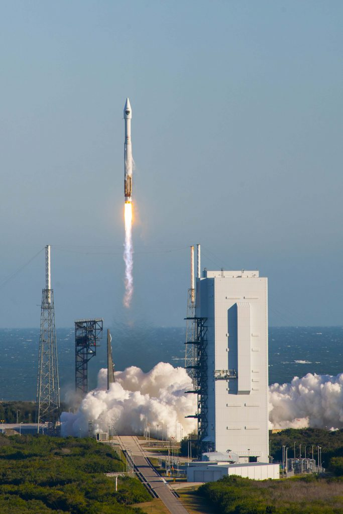File photo of Atlas 5 launch. Credit: ULA