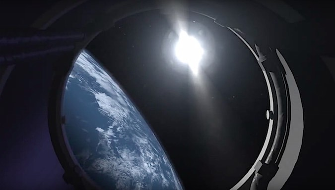 With the first stage jettisoned, the rocket's second stage takes over. The LE-5B hydrogen-fueled engine ignites at an altitude of 140 miles (225 kilometers) to accelerate the Himawari 9 payload to orbital velocity.
