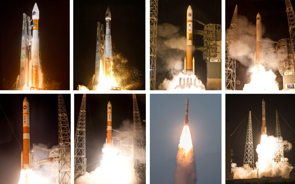 This was the eighth WGS satellite launch. Photos by United Launch Alliance
