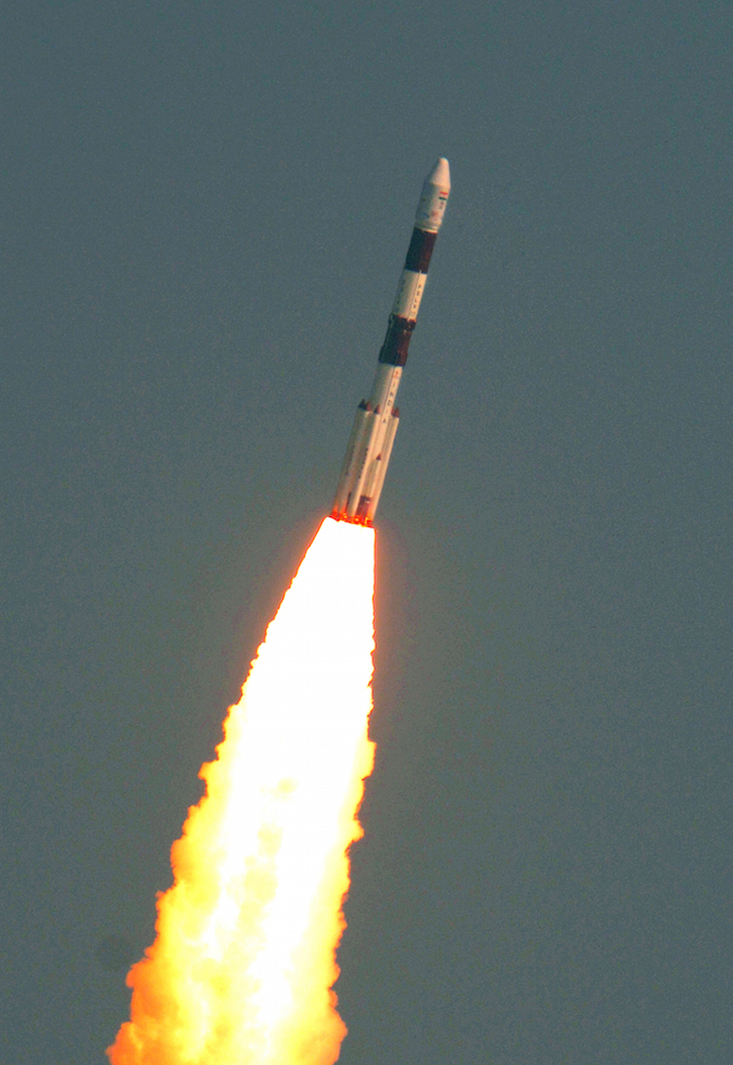 India Lofts A Record 104 Spacecraft On A Single Rocket