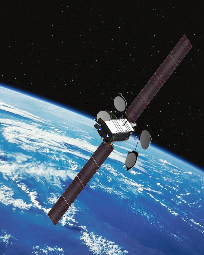 soyuz rocket orbits satellite for airborne navigation and connectivity spaceflight now. Black Bedroom Furniture Sets. Home Design Ideas