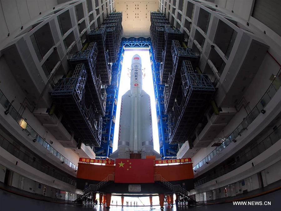 Second launch of China's Long March 5 heavy-lift rocket ...